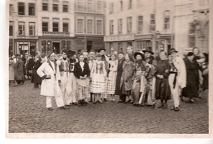Scouts Polonais au carnaval de Binche avant 1939