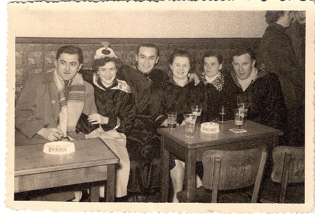 1955 au carnaval de Binche